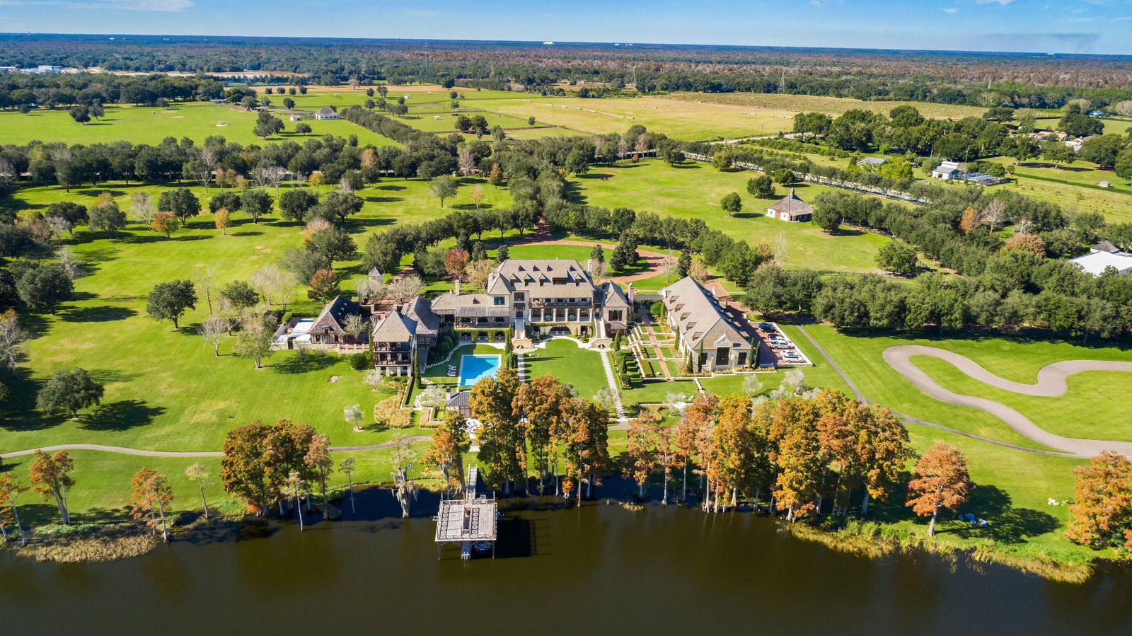 17 5m Florida Mansion With Private Race Track House With Track