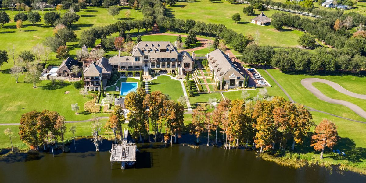 This $17.5 Million Florida Mansion Has Its Own Private Racetrack