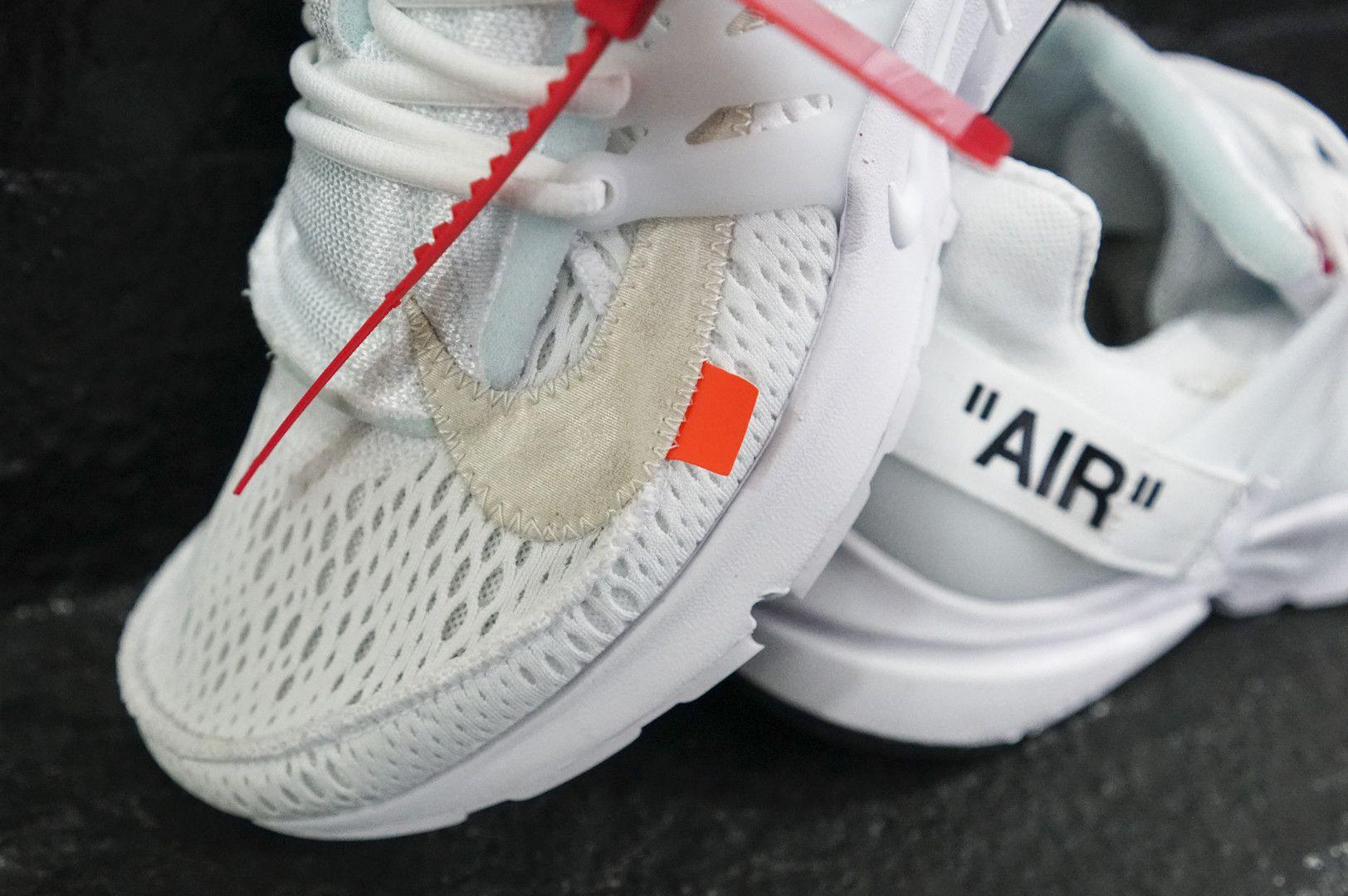 Off White's Nike Air Presto Sneaker Is Back in Black Maxim
