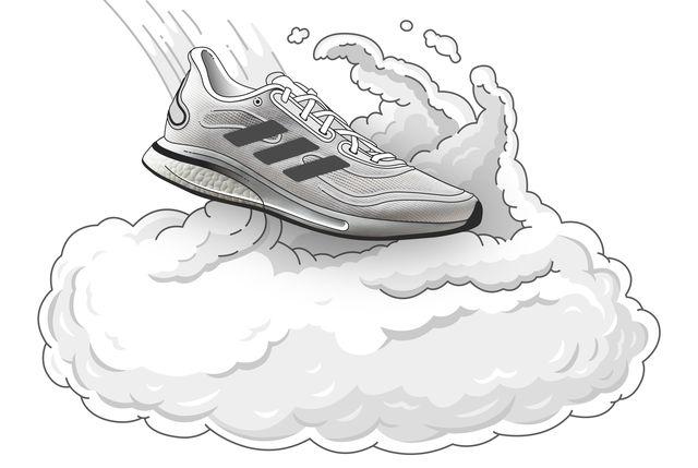 zapatillas correr hombre adidas