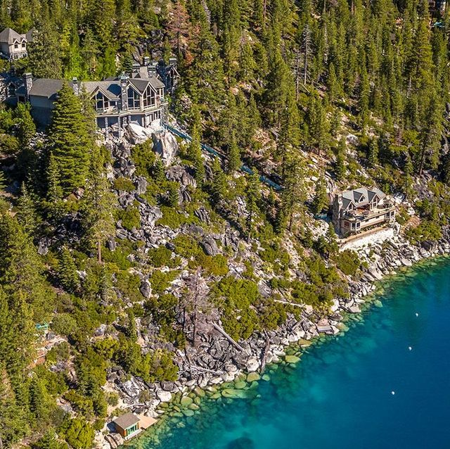 Aerial photography, Natural landscape, Water resources, Water, Tree, Inlet, Geological phenomenon, Coast, Photography, Watercourse,