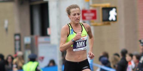 Amy Hastings in 2013 NYC Marathon