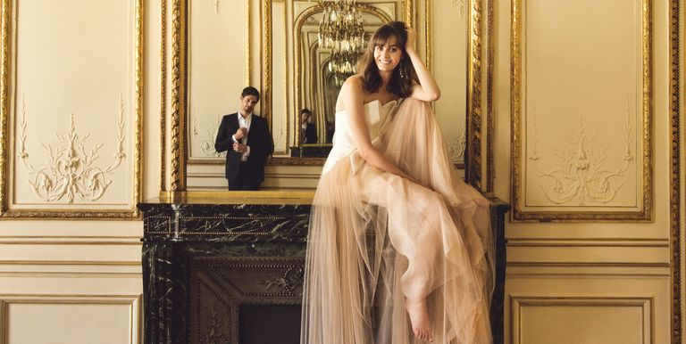 25 wedding reception dresses for 2018 best after party wedding after your vow exchange and first dance the desire to shed your formal ceremony look and hit the dance floor could not be more real junglespirit Images