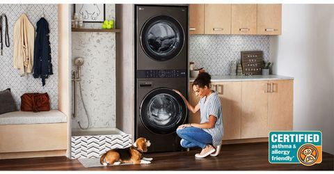 lg washtower, stackable washer dryer