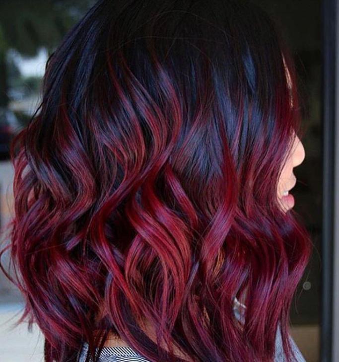 Wonderlijk De haarkleur 'Mulled Wine' is de trend voor deze herfst en zie je TD-52