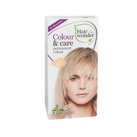 hairwonder colour  care very light blond natuurlijke haarverf