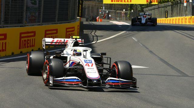 formula 1 dhl azerbaijan grand prix 2021 qualification lap