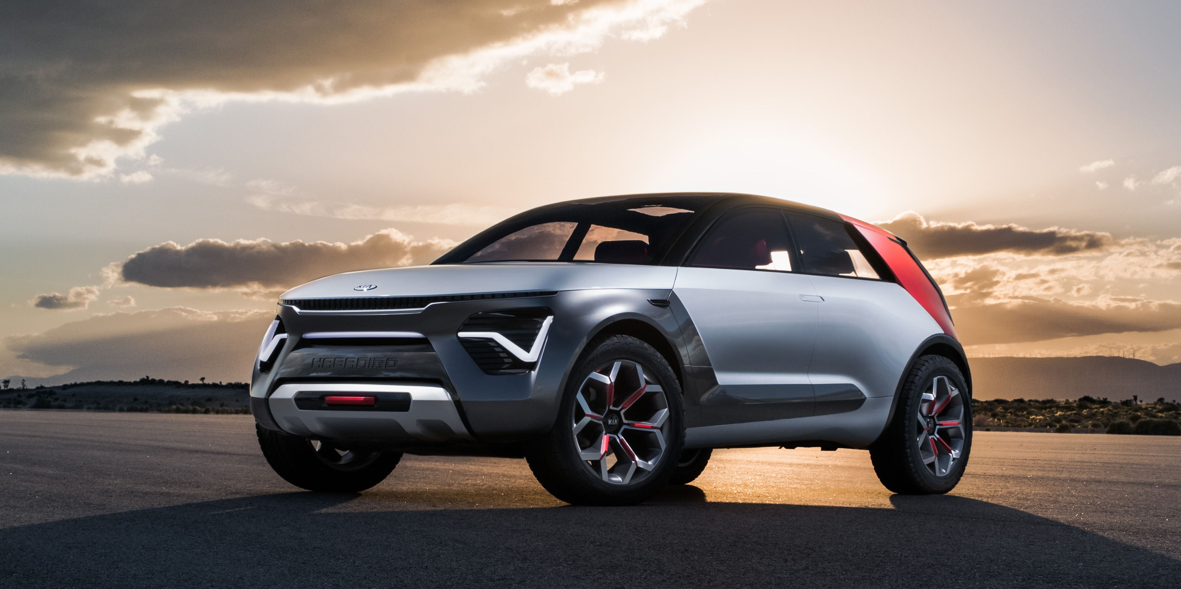 The Kia HabaNiro Concept Is an Electric Crossover That Tries to Be Much More