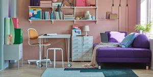Habitación de estudiante de IKEA