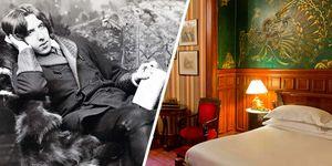 La habitación de Hotel de Oscar Wilde en París