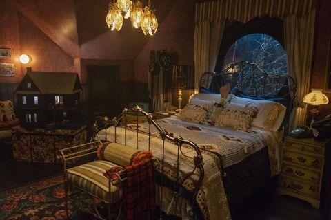 Dormitorio de Sabrina Spellman