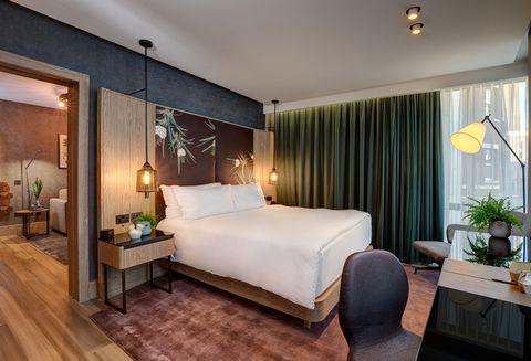 Habitación vegana del hotel Hilton London Bankside