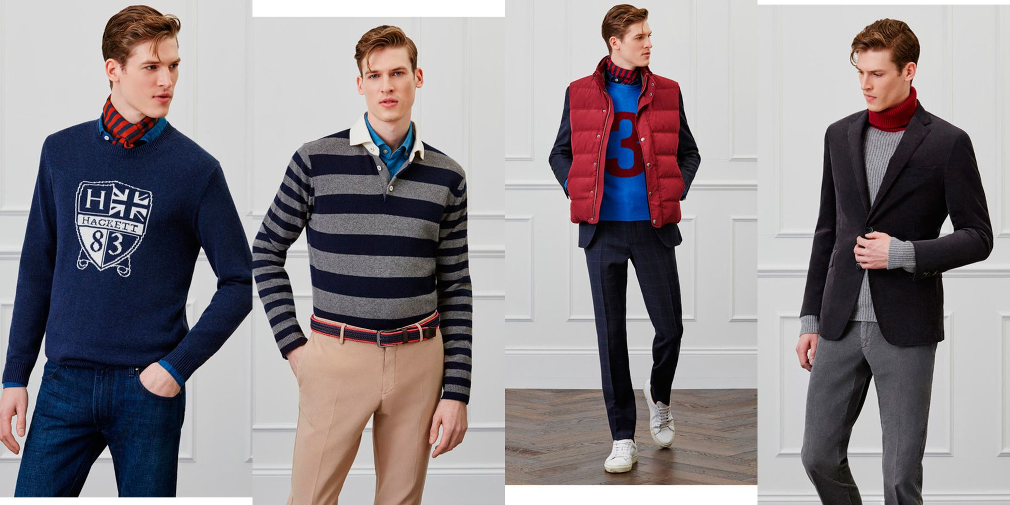 hackett london ropa hombre otoño 2018 classic reinveted
