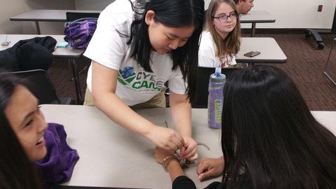 Girl Scouts lockpicking