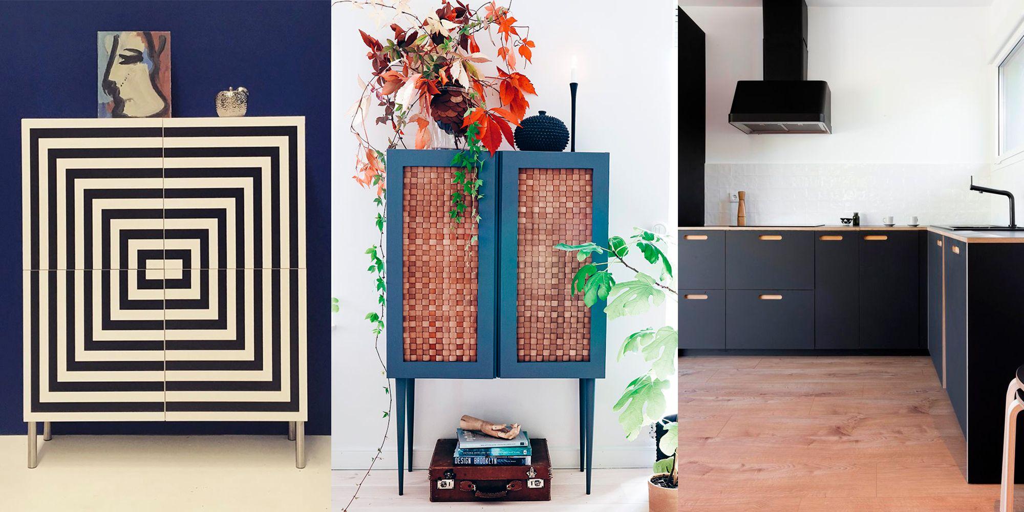 Hacks de Ikea en Instagram Ideas DIY para customizar muebles