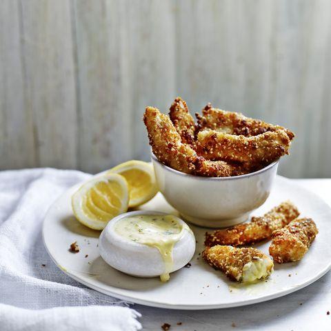 haddock goujons tartare sauce