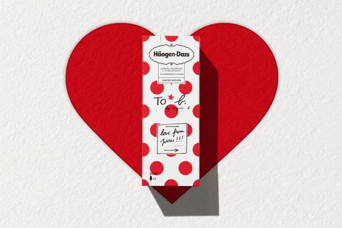 Häagen-Dazs ,To b. by agnès b., 雪糕,白色情人節,哈根達斯,法式冰淇淋,法式時裝,情人節,甜點,冰淇淋