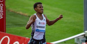 Hagos Gebrhiwet pierde los 5.000m de Lausana por equivocarse al contar vueltas.