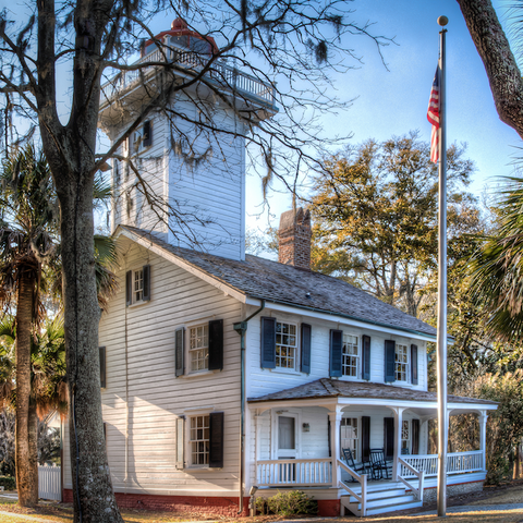 Haig Point Lighthouse Daufuskie South Carolina