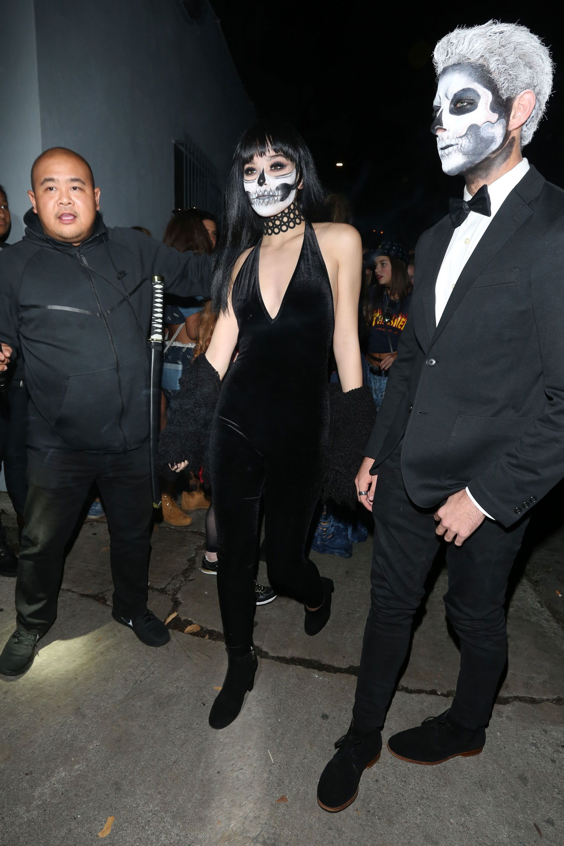 horrifying and hilarious photos of celebs in halloween costumes