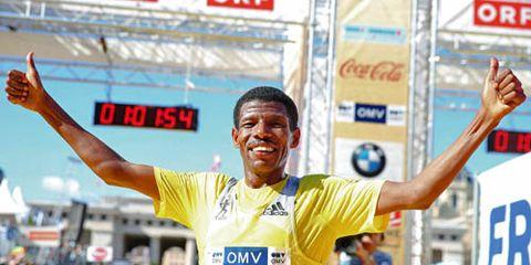 Haile Gebrselassie Vienna Half Marathon
