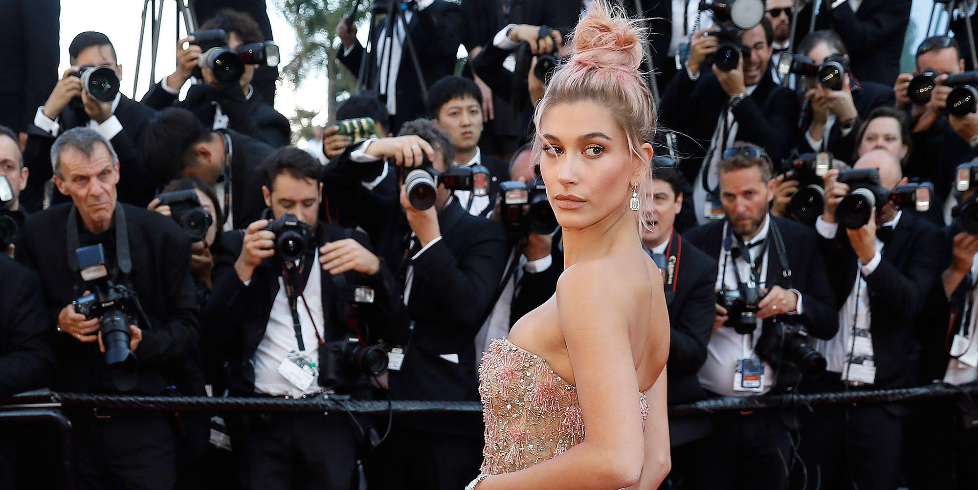 Hailey Baldwin in Cannes
