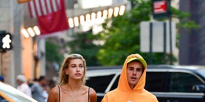 Justin Bieber, Hailey Baldwin, huilend, foto's, New York, drama, problemen, verloving verbroken?, wat is er aan de hand?, relatie, troosten