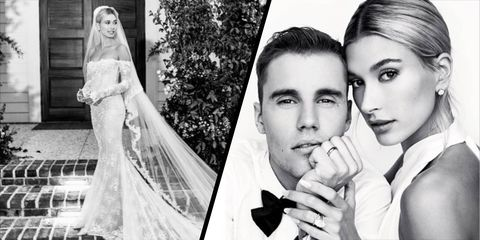 Hailey Bieber Has Revealed Her Wedding Dress