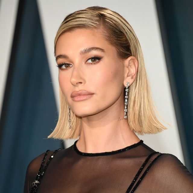 hailey bieber's honeybrown hair is our new colour inspiration