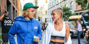 Hailey Bieber en Justin Bieber