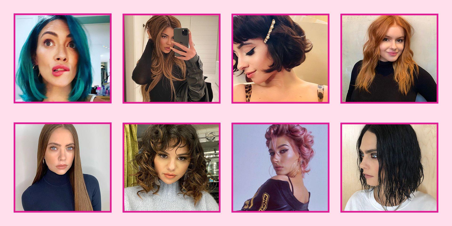 90 Best Celebrity Hairstyles 2020