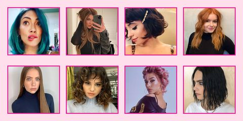 100 Best Celebrity Hairstyles 2020 New Celeb Hair Transformations Cuts And Makeovers