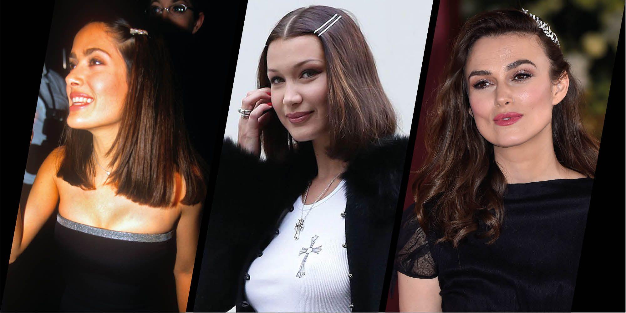 Hair clips through the ages
