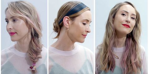 The grown-up way to wear temporary hair colour