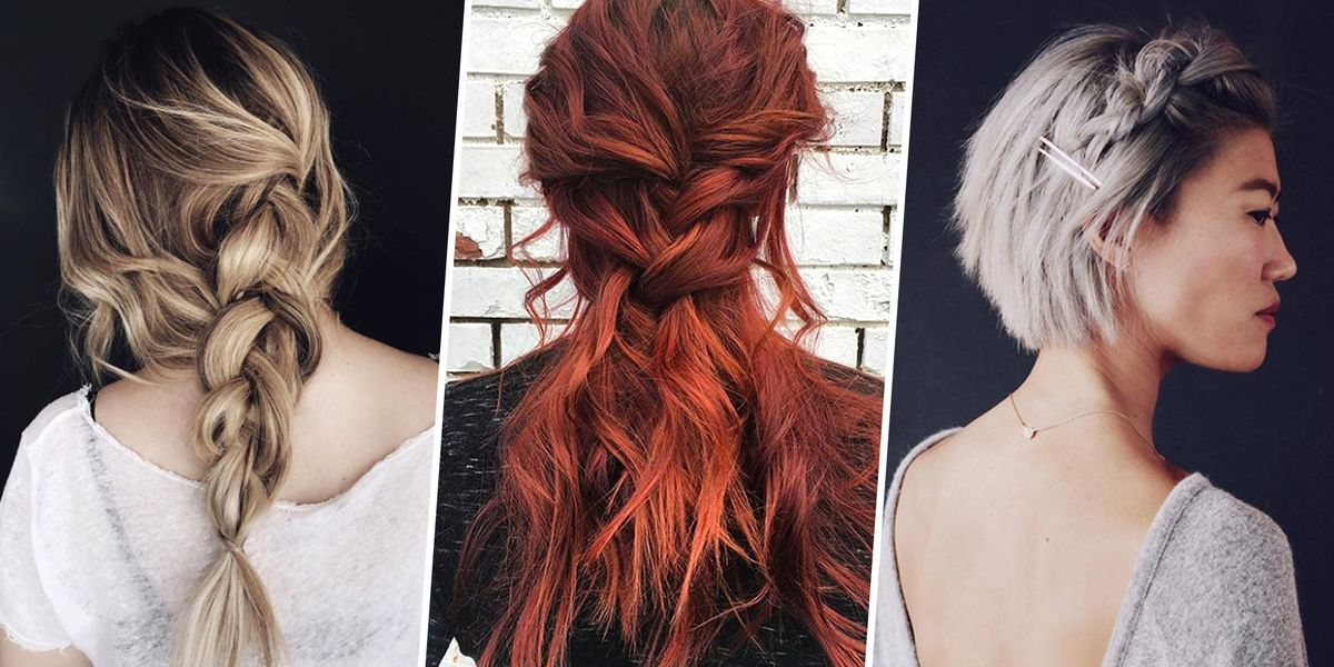 8 Messy Easy Braid Ideas To Copy Best Braided Hairstyles