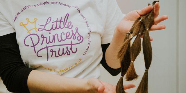 john frieda x little princess trust hair donation