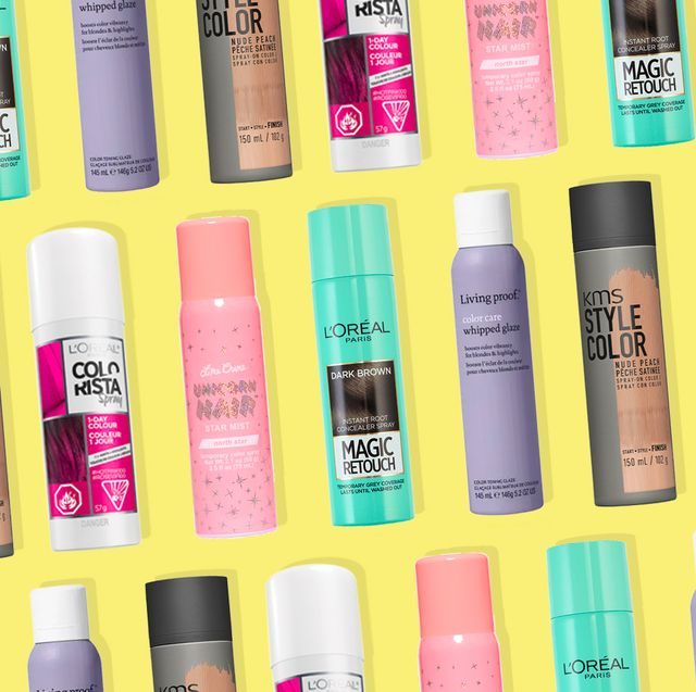 12 Best Temporary Hair Colors Top Hair Dye That Washes Out
