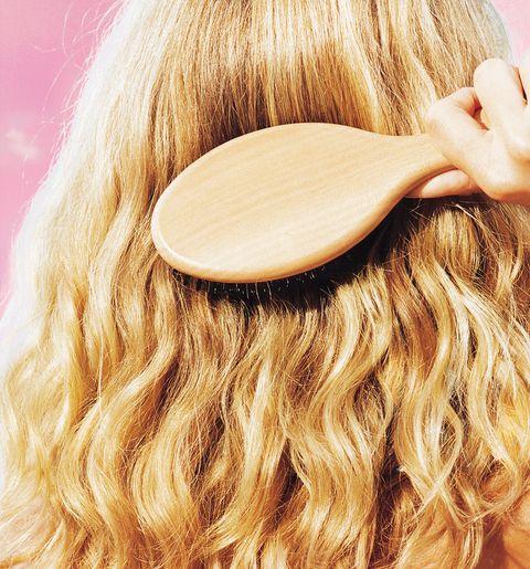 hair brush hair loss