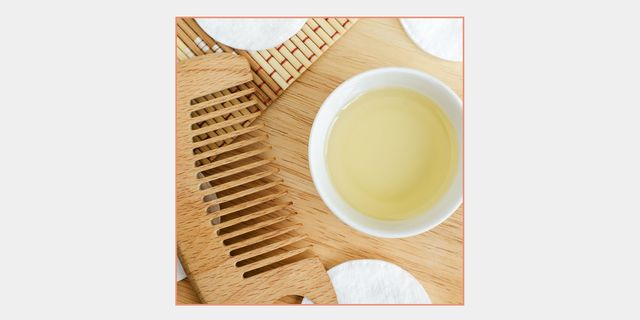 comb and hair oil