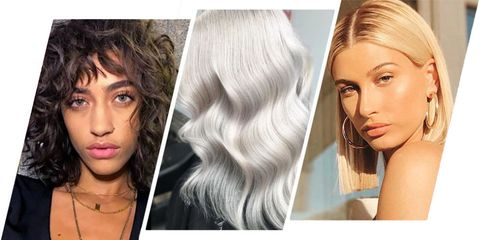 10 Hair Trends to Try in 2018 - Best Hair Colors and Hairstyles of 2017