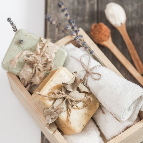 Natural soap Spa set