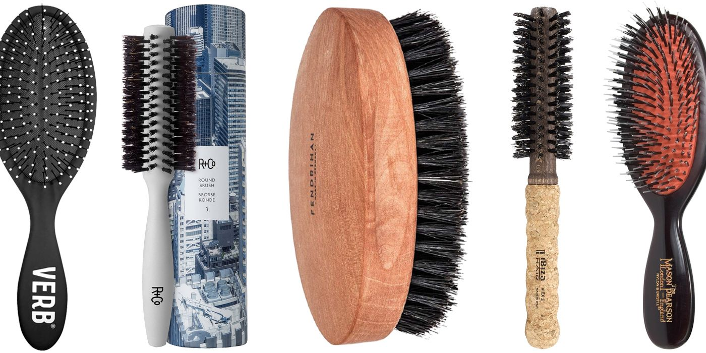 The Right Hair Brushes for Every Guy's Style