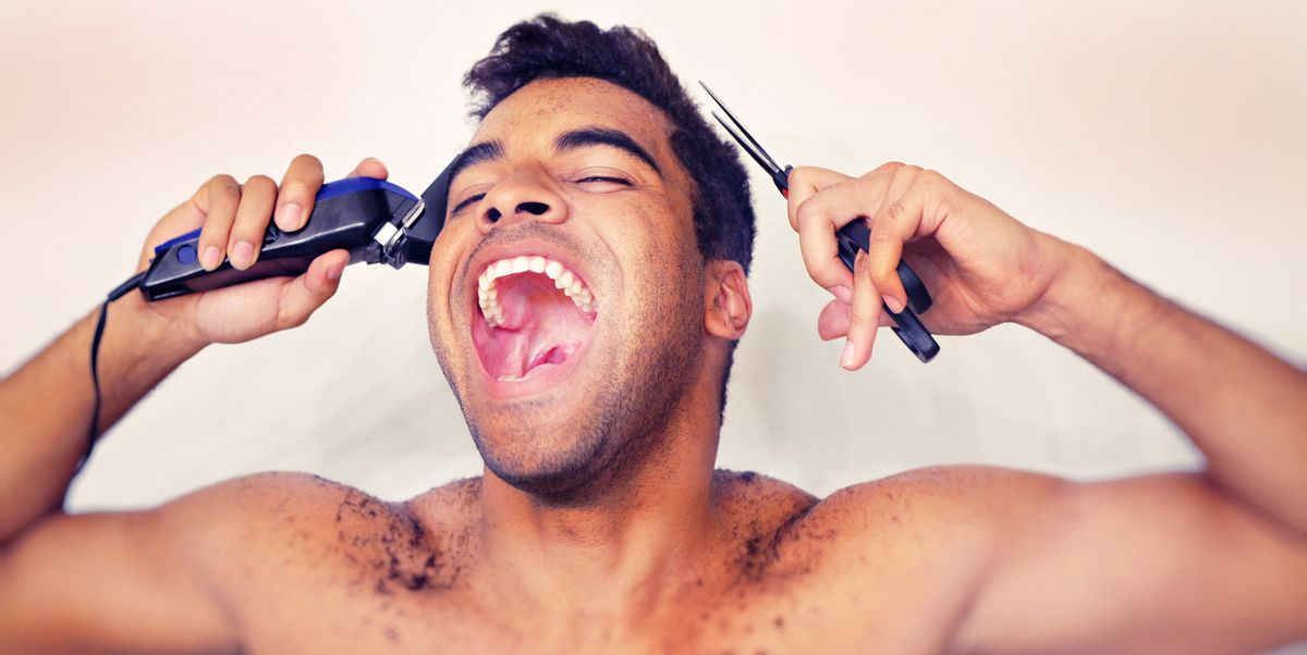 7 Tips To Cut Your Own Hair Men S Self Hair Cut Tips