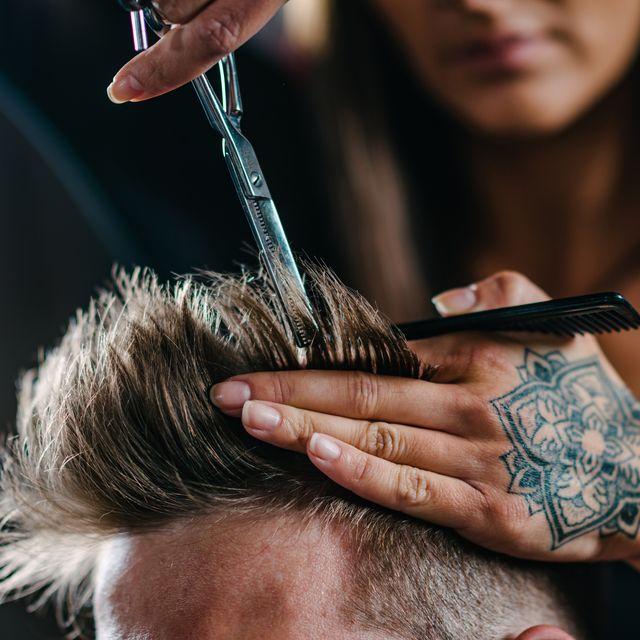 corte de pelo de hombre