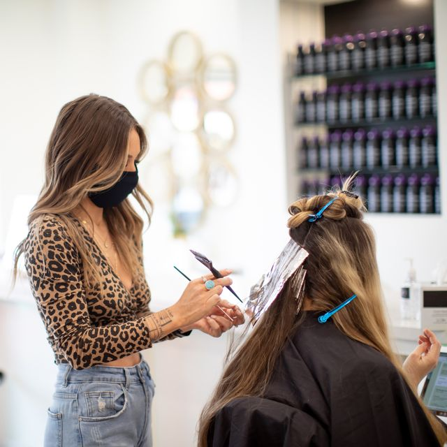 hair dye allergic reaction covid link