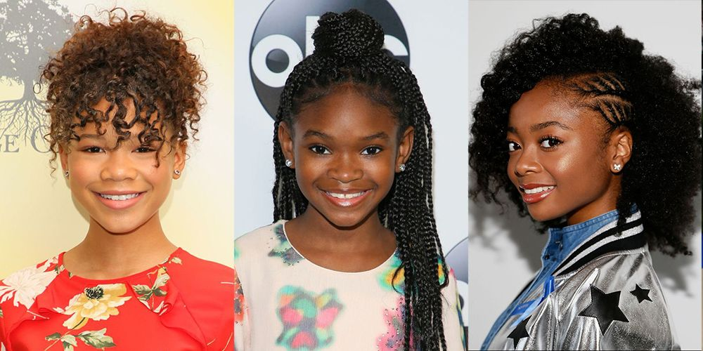 14 Easy Hairstyles For Black Girls Natural Hairstyles For Kids