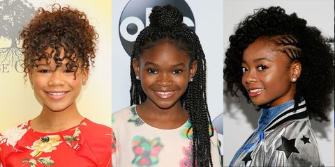 14 Easy Hairstyles for Black Girls - Natural Hairstyles for Kids