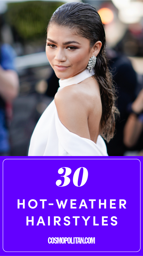 30 Hairstyles To Wear When It S Hot Out Hot Weather Hairstyles