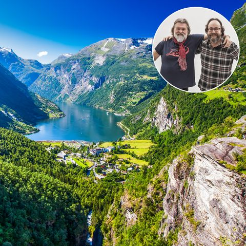 norway cruise with hairy bikers