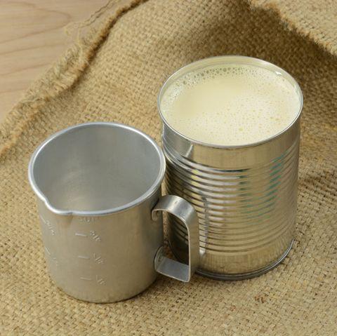 half and half substitute evaporated milk in can